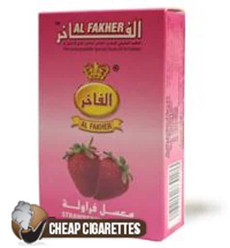Al Fakher Strawberry Flavour Hookah Tobacco