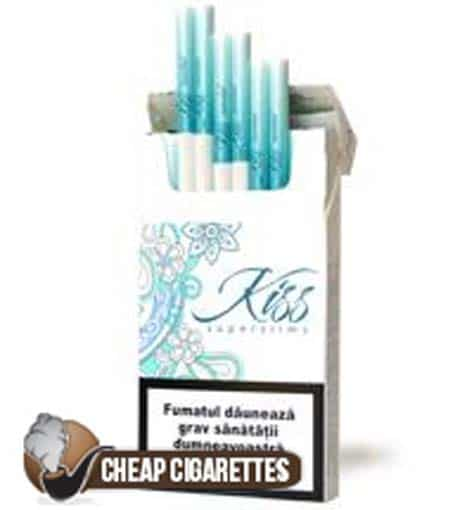 Kiss Superslims Menthol
