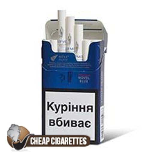 Philip Morris Novel Blue