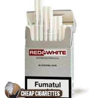 Red&White Superslims Shine