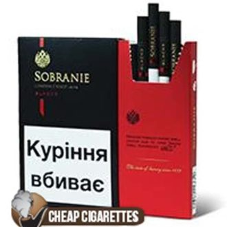Sobranie SuperSlims Black