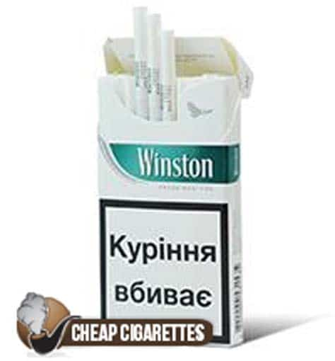 Winston SuperSlims Fresh Menthol